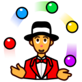 Person Juggling on emojidex 1.0.34