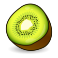 Kiwi Fruit on emojidex 1.0.34