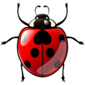 Lady Beetle on emojidex 1.0.34