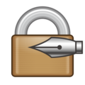Locked With Pen on emojidex 1.0.34