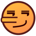 Lying Face on emojidex 1.0.34