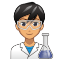 Man Scientist: Medium Skin Tone on emojidex 1.0.34