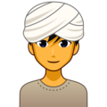 Man Wearing Turban on emojidex 1.0.34