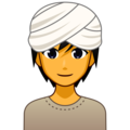 Person Wearing Turban on emojidex 1.0.34