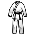 Martial Arts Uniform on emojidex 1.0.34