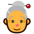 Old Woman on emojidex 1.0.34