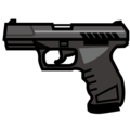 Pistol on emojidex 1.0.34