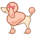 Poodle on emojidex 1.0.34