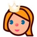 Princess: Medium-Light Skin Tone on emojidex 1.0.34