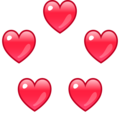 Revolving Hearts on emojidex 1.0.34