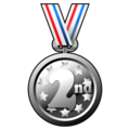 2nd Place Medal on emojidex 1.0.34