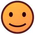Slightly Smiling Face on emojidex 1.0.34