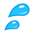 Sweat Droplets on emojidex 1.0.34