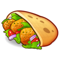 Stuffed Flatbread on emojidex 1.0.34