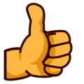 Thumbs Up on emojidex 1.0.34