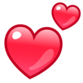 Two Hearts on emojidex 1.0.34