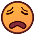 Weary Face on emojidex 1.0.34