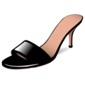 Woman's Sandal on emojidex 1.0.34