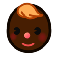 Baby: Dark Skin Tone on emojidex 1.0.24