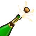 Bottle With Popping Cork on emojidex 1.0.24