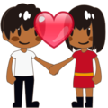 Couple With Heart, Type-5 on emojidex 1.0.24