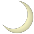 Crescent Moon on emojidex 1.0.24