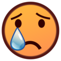Crying Face on emojidex 1.0.24