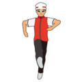 Woman Dancing: Medium Skin Tone on emojidex 1.0.24
