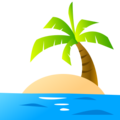 Desert Island on emojidex 1.0.24