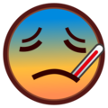 Face With Thermometer on emojidex 1.0.24