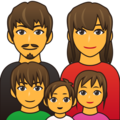 Family on emojidex 1.0.24