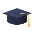Graduation Cap on emojidex 1.0.24