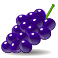 Grapes on emojidex 1.0.24