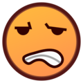 Grimacing Face on emojidex 1.0.24