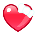 Heart With Ribbon on emojidex 1.0.24