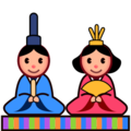 Japanese Dolls on emojidex 1.0.24