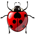 Lady Beetle on emojidex 1.0.24