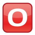 O Button (blood Type) on emojidex 1.0.24