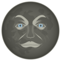 New Moon Face on emojidex 1.0.24