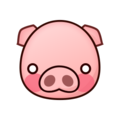 Pig Face on emojidex 1.0.24