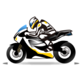 Motorcycle on emojidex 1.0.24