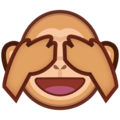 See-No-Evil Monkey on emojidex 1.0.24