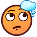 Thinking Face on emojidex 1.0.24