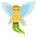 Man Fairy on EmojiOne 3.1