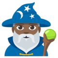 Man Mage: Medium-Dark Skin Tone on EmojiOne 3.1