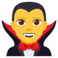 Man Vampire on EmojiOne 3.1