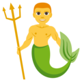 Merman on EmojiOne 3.1