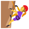 Woman Climbing on EmojiOne 3.1