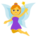 Woman Fairy on EmojiOne 3.1