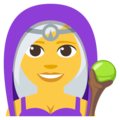 Woman Mage on EmojiOne 3.1